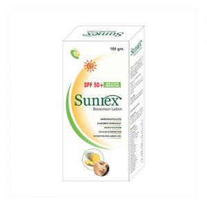 SPF 50+ Sunrez Sunscreen Lotion