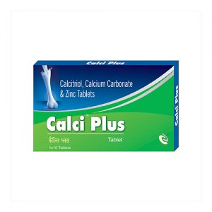 Calcitriol, Calcium Carbonate & Zinc Tablets