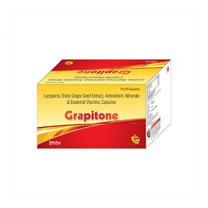 Lycopene, Back Grape seed Extract, Antioxidant, Minerals & Essential Vitamins Capsules