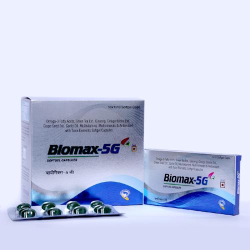 Biomax Softgel capsule
