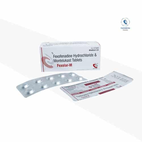 Fexofenadine 120mg + Montelukast 10mg