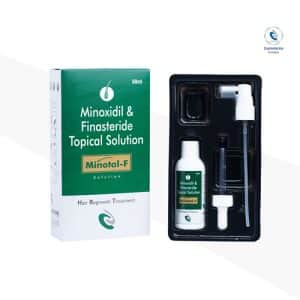 Minoxidil 5% w/v + Finasteride 0.1% Lotion