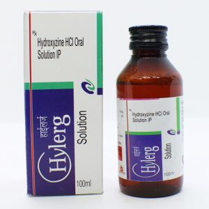 Hydroxyzine HCL Oral Solution IP